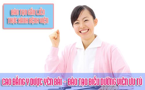 Cao đẳng Y Dược Yên Bái đào tạo Điều dưỡng viên chuyên nghiệp
