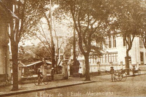 Trường Cơ khí Á châu (nay là Cao đẳng Kỹ thuật Cao Thắng) được thành lập năm 1906