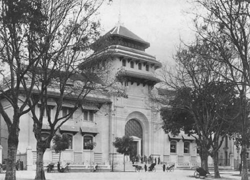 Trụ sở Đại học Đông Dương xưa ở Hà Nội