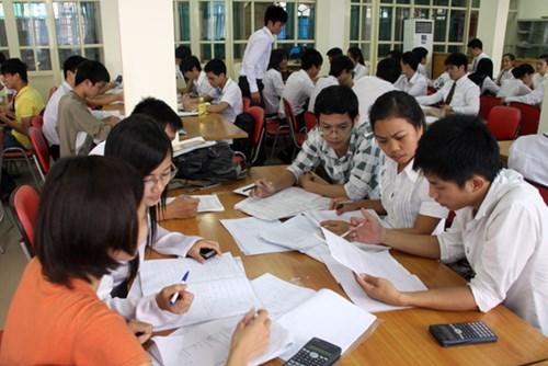 Học nhóm là một trong những biểu hiện của phương pháp đào tạo tín chỉ