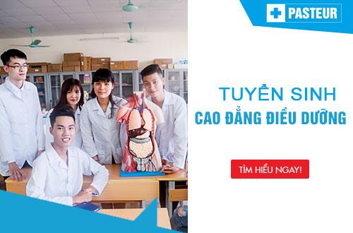 Trường Cao đẳng Y Dược Pasteur tuyển sinh Cao đẳng Điều dưỡng Yên Bái