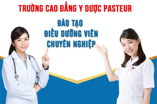 Học Điều dưỡng phải chọn Trường Cao đẳng Y Dược Pasteur