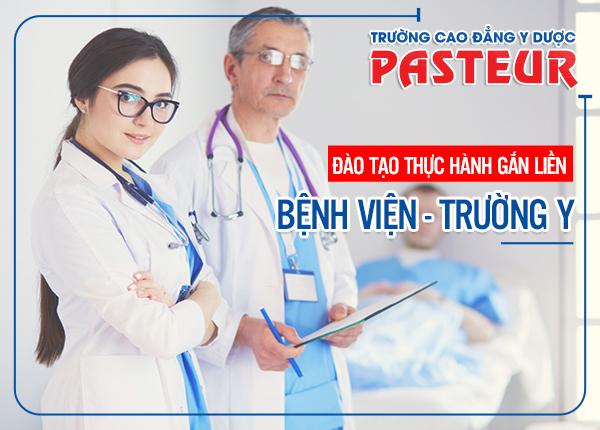 Trường Cao đẳng Y Dược Pasteur CS Yên Bái đào tạo lý thuyết đi đôi thực hành