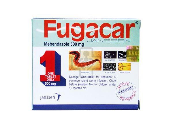Kiến thức đầy đủ về thuốc tẩy giun Fugacar