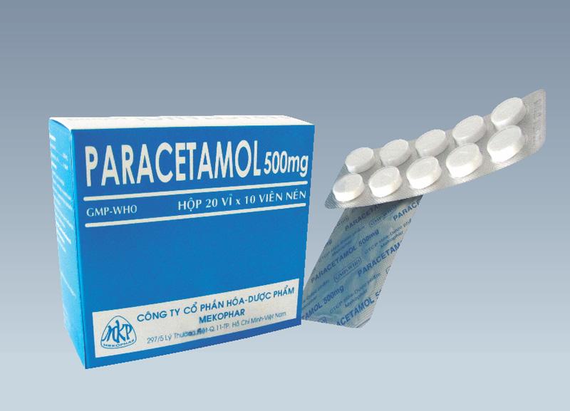 Thuốc paracetamol cần được sử dụng theo liệu lượng quy định