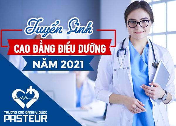 Trường Cao đẳng Y dược Pasteur tuyển sinh Cao đẳng Điều dưỡng 2021