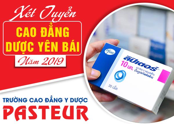 Tuyển sinh Cao đẳng Dược Yên Bái năm 2019